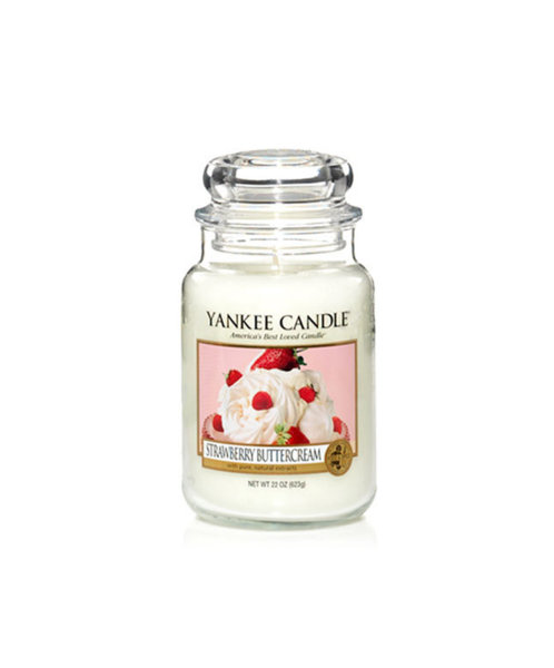 Yankee Candle ароматна свещ STRAWBERRY BUTTERCREAM